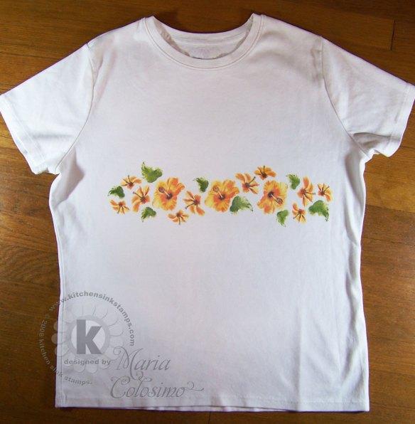 Hibiscus-t-shirt