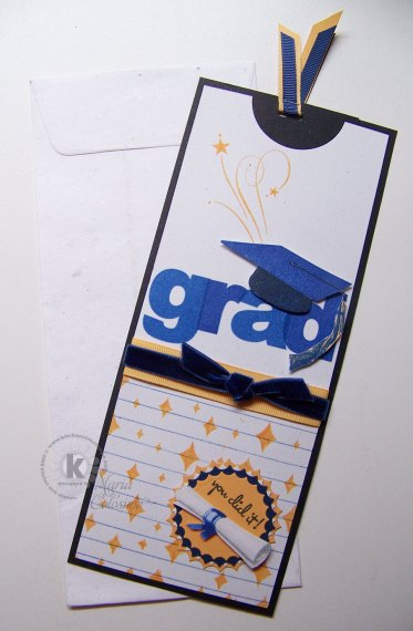 Long Tall Graduation Card