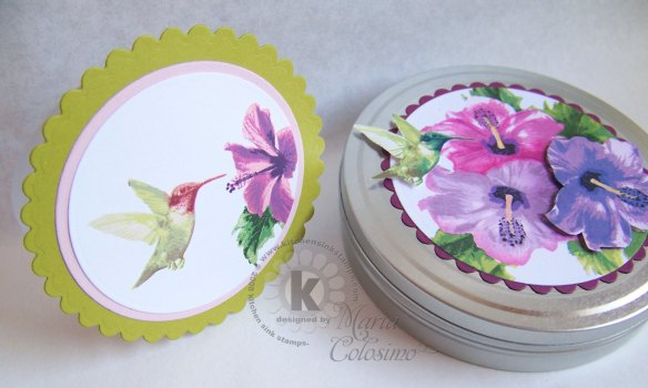 Humming-Bird-tin-&-card-