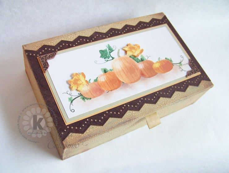 Pumpkins Altered Harvest Box
