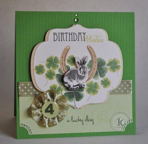 Lucky Birthday Card