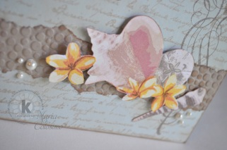 Close-Up Thankful Cherish Friend Seashell Card