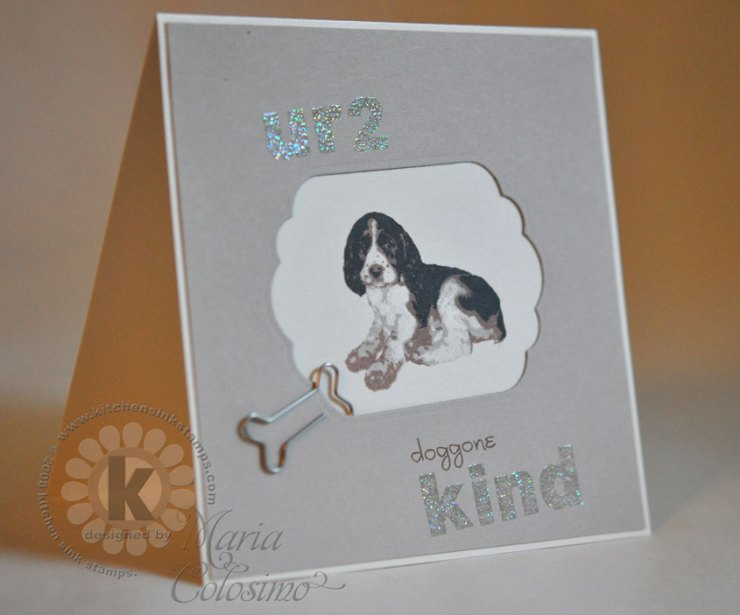 U R 2 Kind Puppy Card