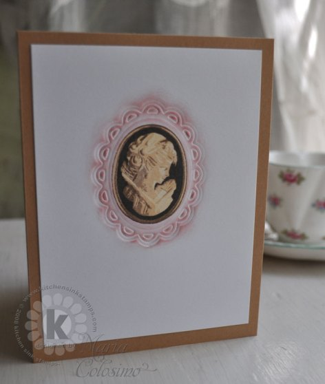 Mothers Day Cameo Card