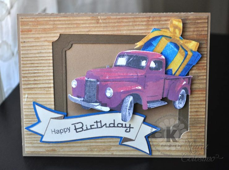 Birthday Gift Card from Kitchen Sink Stamps