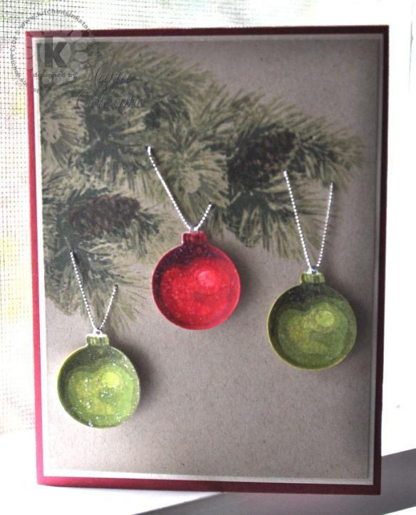 Multi Step Ornaments from Kitchen Sink Stamps