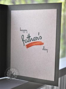 Happy Father's Day - Kitchen Sink Stamps