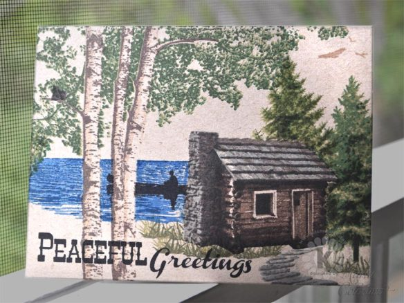 Peaceful Greetings from Kitchen Sink Stamps