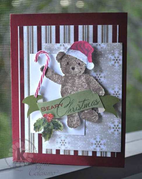 Beary-Christmas by Kitchen Sink Stamps