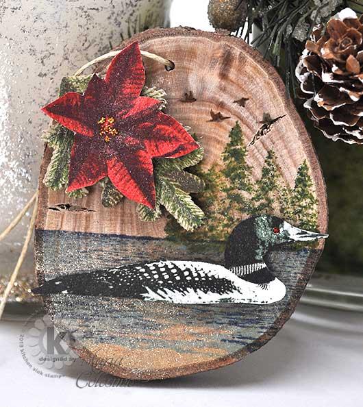 Loon-poinsettia-wood-ornament