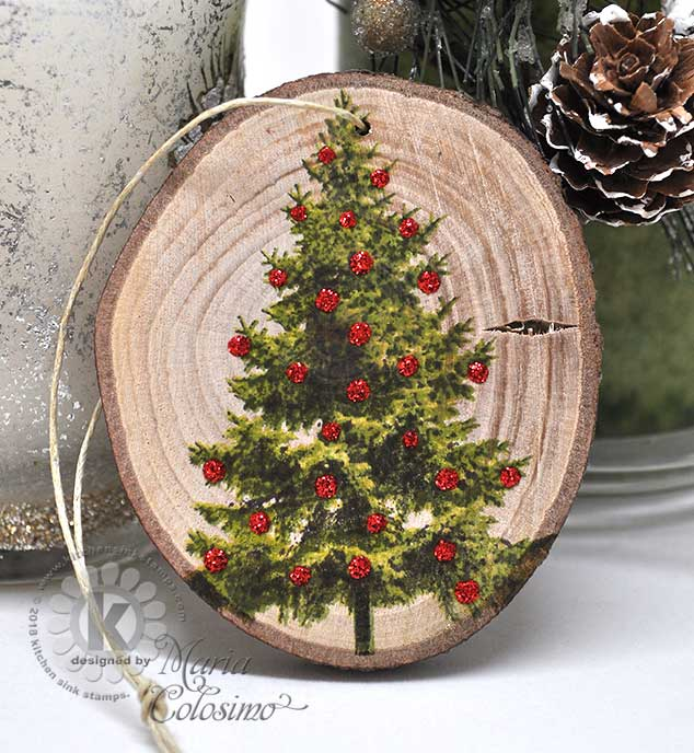 Christmas-Tree-Wood-Ornament