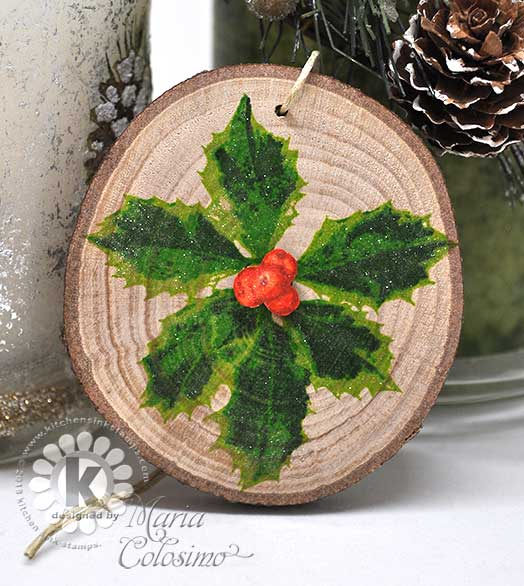 Holly-Wood-Ornament