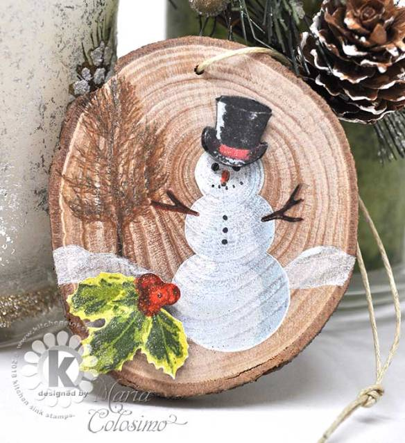 Snowman-Wood-Ornament