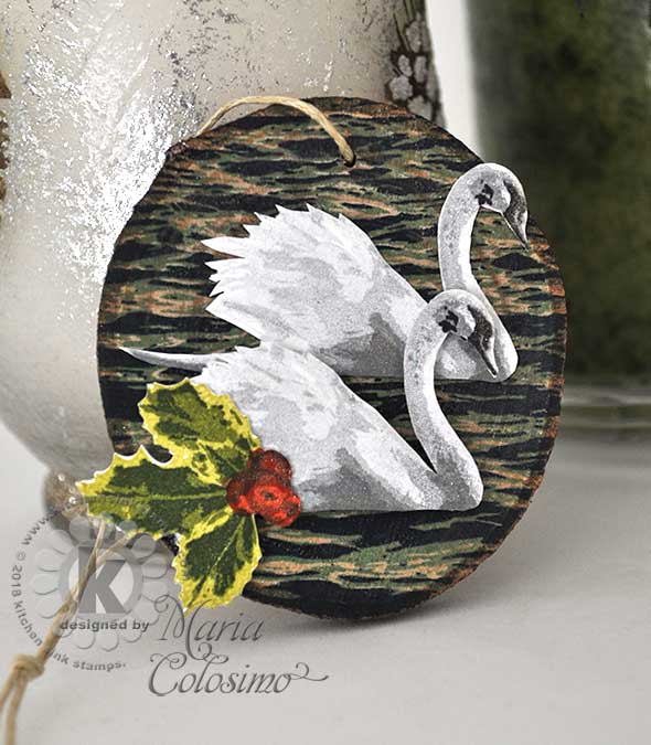 Swans-a-swimming-wood-ornament-2