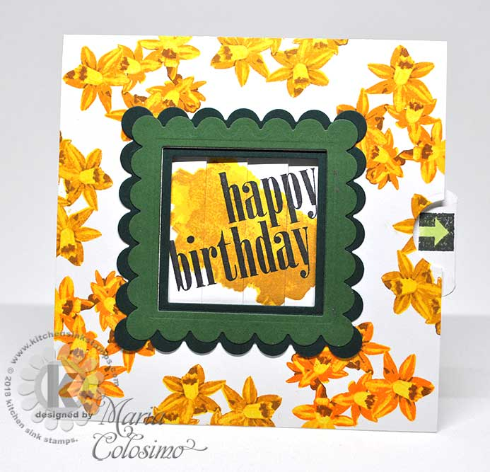 Birthday-Daffodill-picture-changer-card-1