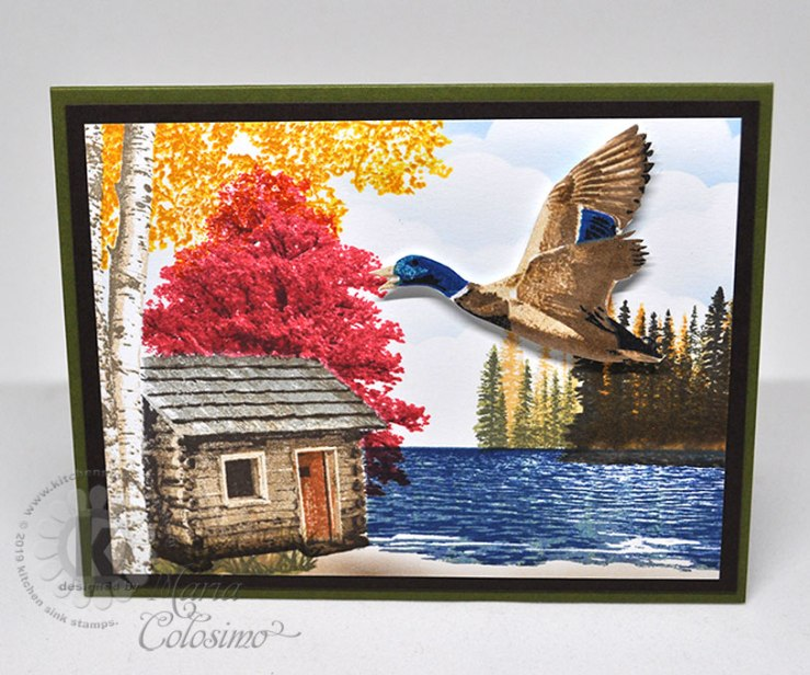 Autumn-Cabin-with-duck