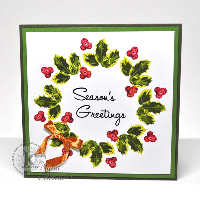 Holly-Wreath