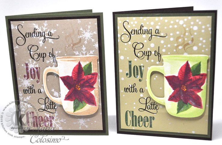 Poinsettia-Green-and-Tan-Mug-