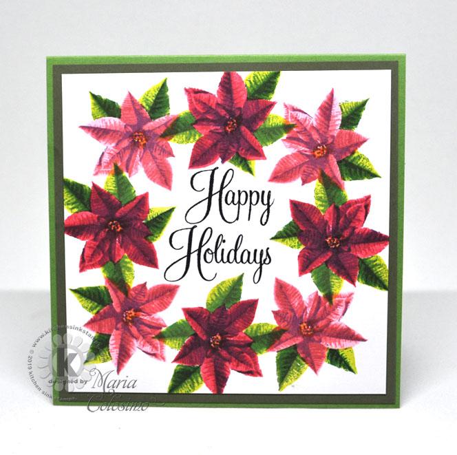 Poinsettia-Wreath